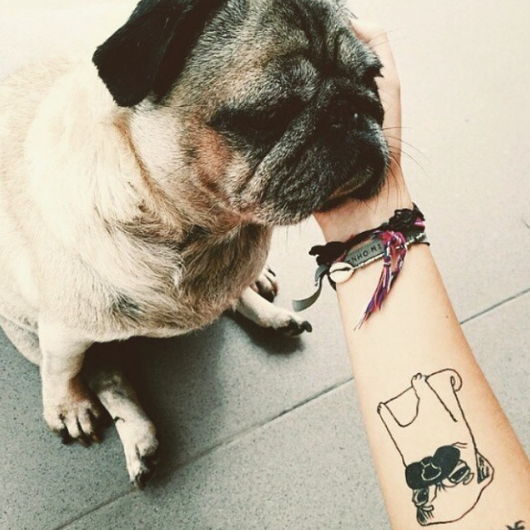 tattoos de perros